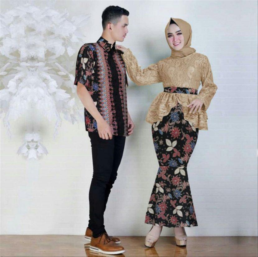 baju batik couple untuk pesta