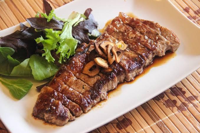 Cara Membuat Steak Sapi Asam