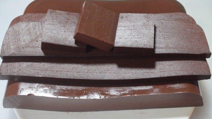 Cara Membuat Coklat Dodol