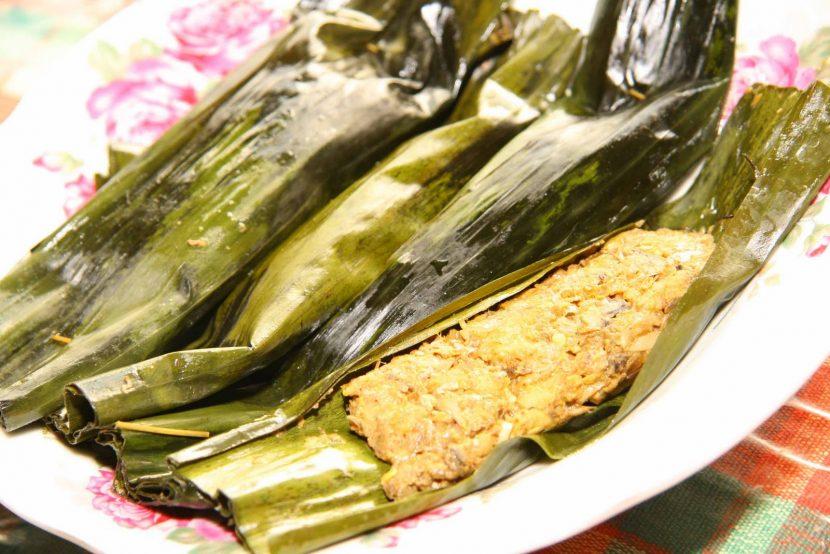 resep pepes ikan khas minang
