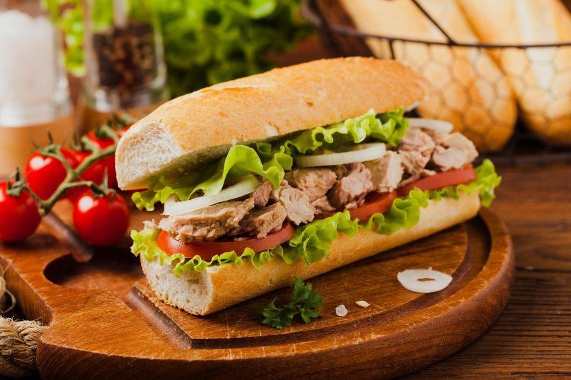 Cara membuat sandwich sayur untuk diet