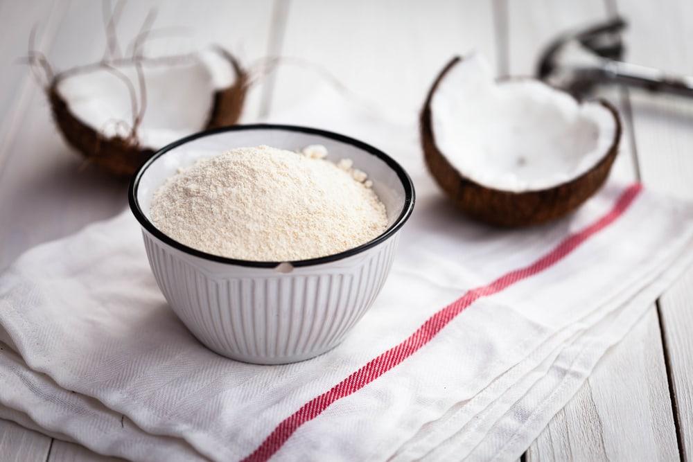 cara membuat tepung kelapa