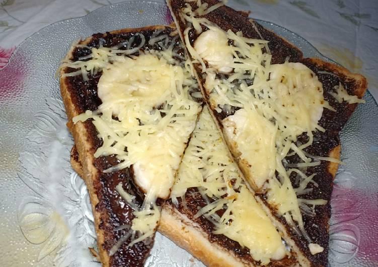resep roti panggang coklat