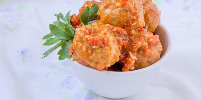 resep bakso goreng pedas