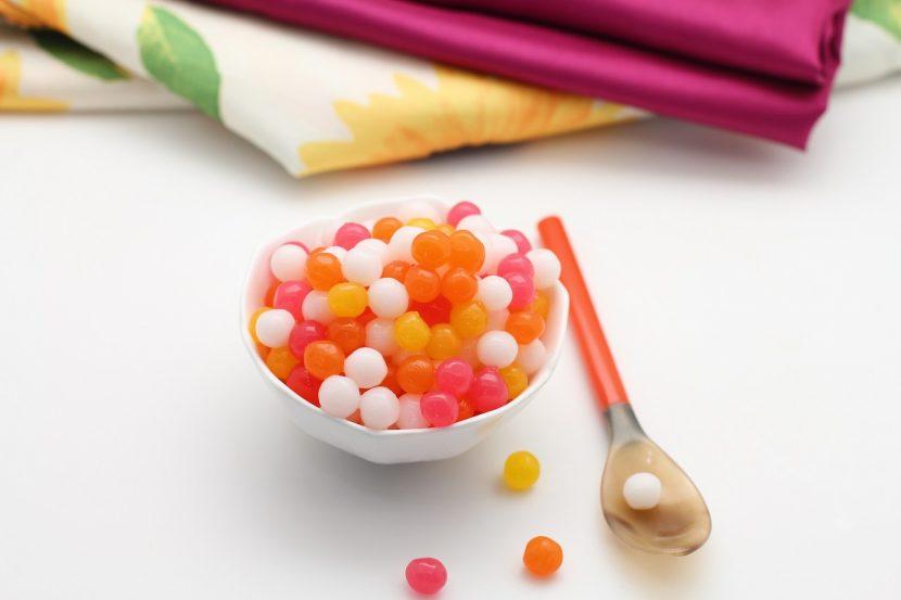 resep bubble jelly pelangi
