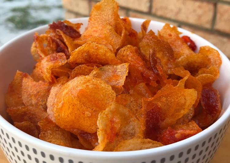 resep kentang crispy kriuk