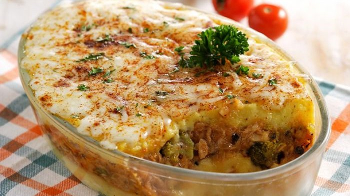 resep kentang panggang keju