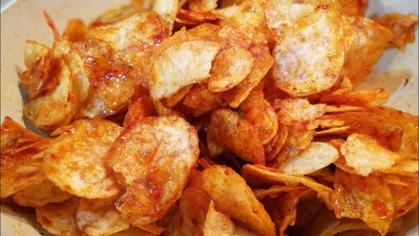 resep keripik kentang balado
