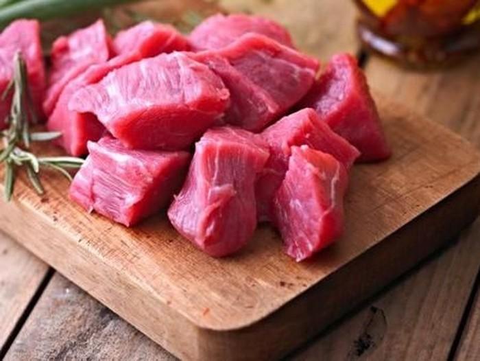 cara memotong daging sapi untuk rendang