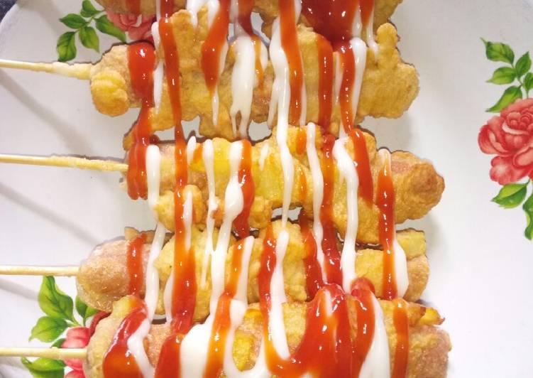 resep kentang sosis goreng