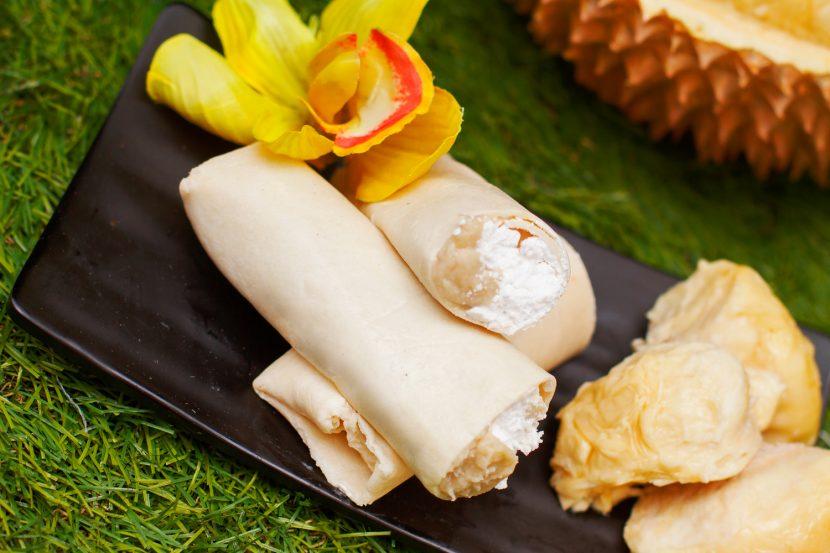 cara membuat kebab durian