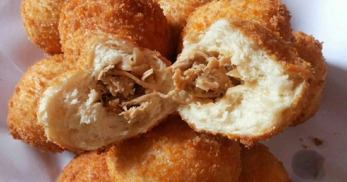 resep roti goreng isi ayam