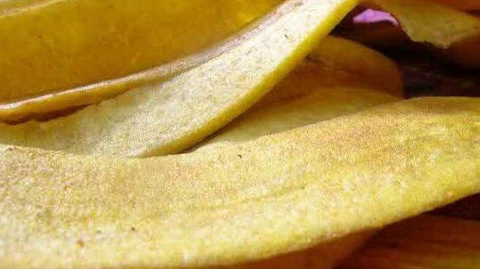 cara membuat keripik kulit pisang