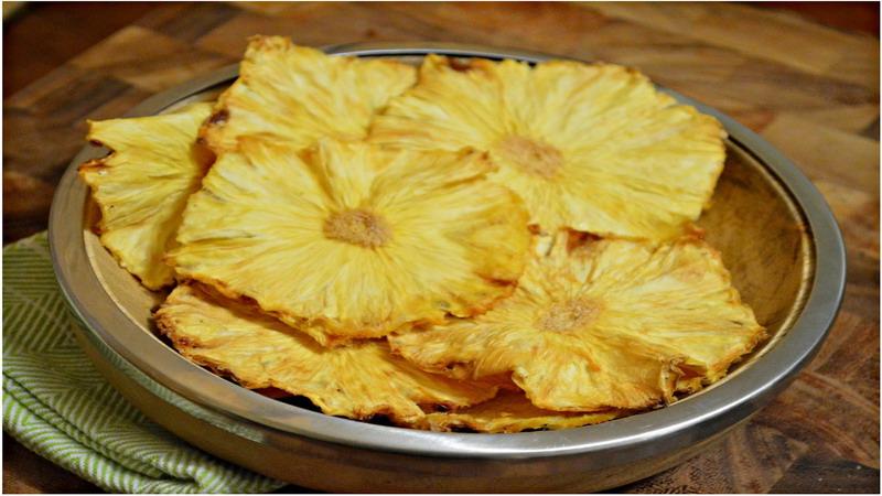 cara membuat keripik nanas
