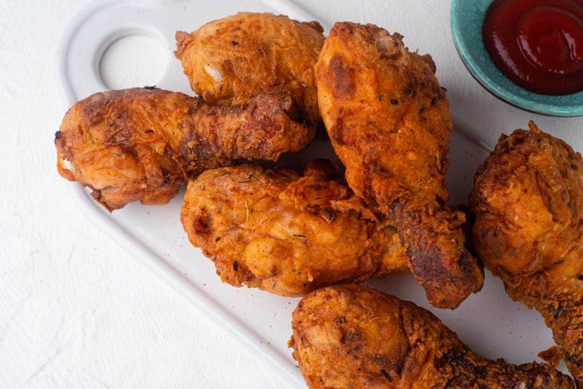 Cara membuat fried chicken crispy dan keriting